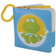 ELC Bath Time Frog Bath Book with Water Squirter Early Learning Centre